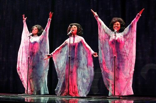 Adrienne Warren (Lorrell), Syesha Mercado (Deena), Moya Angela (Effie)