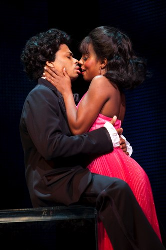 Chester Gregory (James Early) and Adrienne Warren (Lorrell).