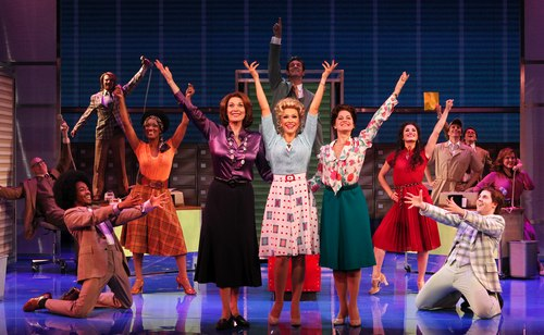 Cast of the National Touring Production of 9 to 5: The Musical.