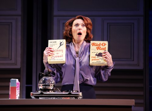 Dee Hoty as Violet Newstead in 9 to 5: The Musical.