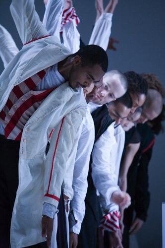 Bill T. Jones/Arnie Zane Dance Company's Serenade/The Proposition Dancers: LaMichael Leonard; Antonio Brown; Peter Chamberlin; Erick Montes; Shayla-Vie Jenkins; I-Ling Liu; Leah Cox