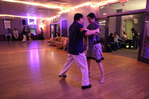 You Should Be Dancing 'Latin' Room 1/125, 2.5, ISO 12800