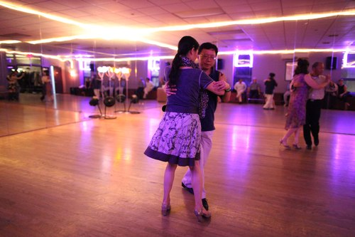 You Should Be Dancing 'Latin' Room 1/125, 1.6, ISO 6400