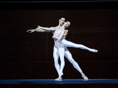 Joffrey Ballet's 'Round of Angels' Dancers: Victoria Jaiani & Fabrice Calmels