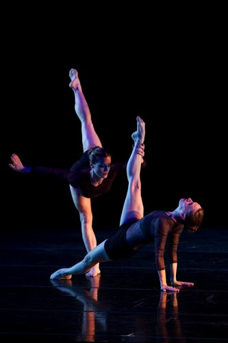 Mariel Greenlee and Caitlin Swihart in DK's Electric Counterpoint