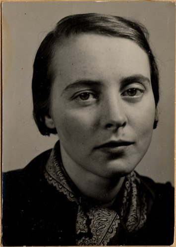 Foto of Hanna Berger in the early 1930s