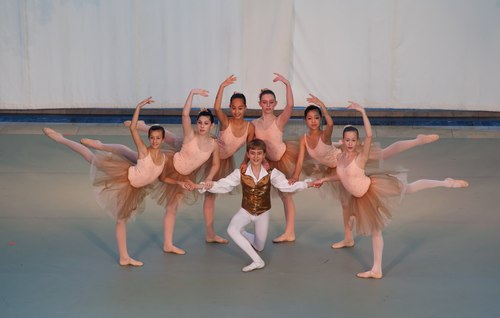 Indianapolis School of Ballet in I Vespri Siciliani  Choreography by Victoria Lyras