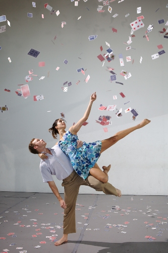 Michael Crotty and Drea Sobke in 'nana' choreographed by Genevieve Carson