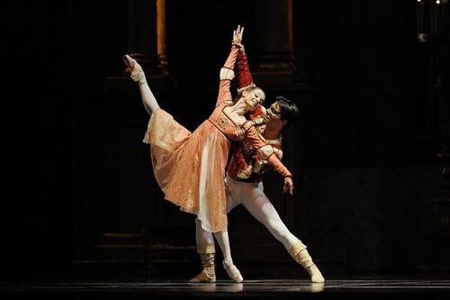 San Francisco Ballet's Maria Kochetkova and Joan Boada in Helgi Tomasson's 'Romeo and Juliet'