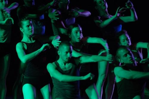 Batsheva Dance Company dancers in 'MAX' by Ohad Naharin