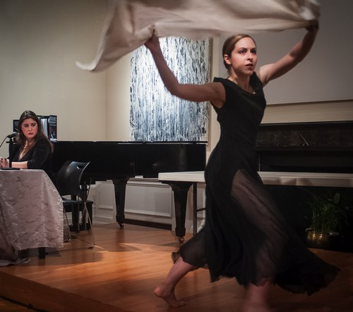 'Around the Altar' danced by Lauren Ohmer at the 'Unveiling Motion and Emotion' book launch