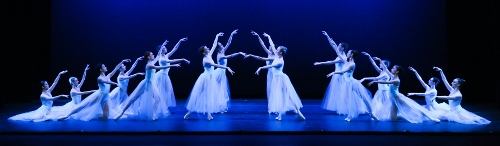 Pittsburgh Ballet Theatre in George Balanchine's 'Serenade'.