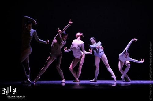 San Francisco Ballet in Wayne McGregor's 'Borderlands'.