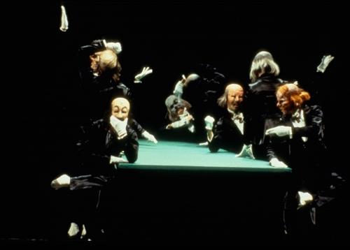 Kurt Jooss' 'The Green Table'. Photo courtesy of Joffrey Ballet.