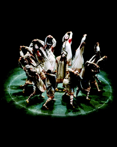 Joffrey Ballet in 'Rite of Spring'.
