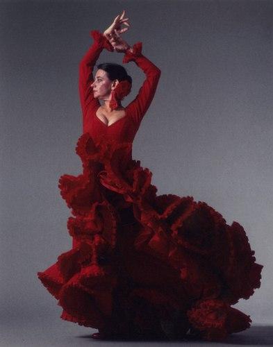 Carlota Santana, 1990s. Photo courtesy of Flamenco Vivo.