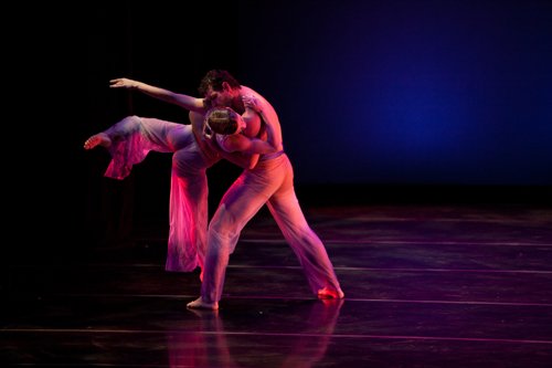 Mariel Greenlee and Tim June in David Hochoy's 'Romeo and Juliet Fantasy'.
