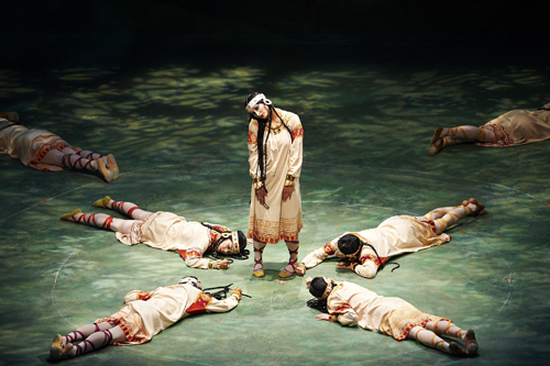 The Joffrey Ballet in 'The Rite of Spring'.