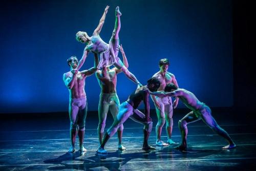 Dance Kaleidoscope dancers in David Hochoy's 'iconoGlass'. Photo courtesy of Dance Kaleidoscope.