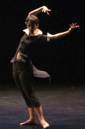 Melanie Aceto in 'Dancer Mad'.