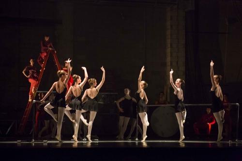 BalletMet Academy dancers in Victoria Morgan's 'Bolero'.