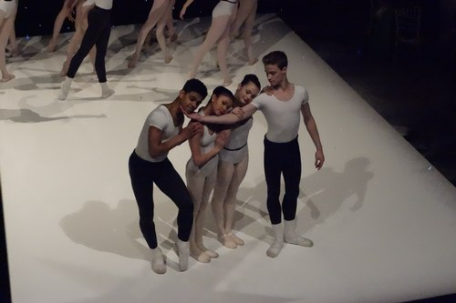 This grouping, performed twice, was one of the sweetest moments in the dance.