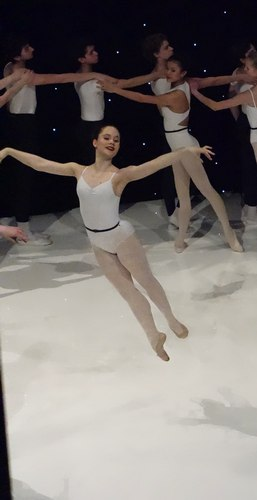 A great smile. Delicate, relaxed ballet hands. Lightness in her feet. She embodied many feminine ballet qualities.