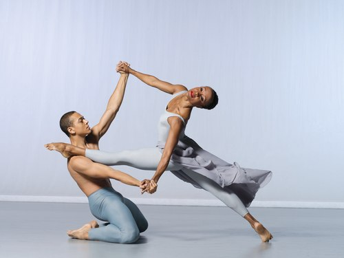 AAADT's Clifton Brown and Renee Robinson in Alvin Ailey's The River