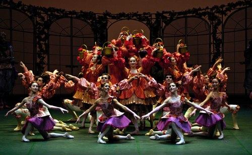Staatsballett Berlin performs 'Dornröschen'