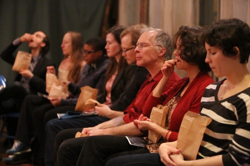 The audience at a Chocolate Dances performance
