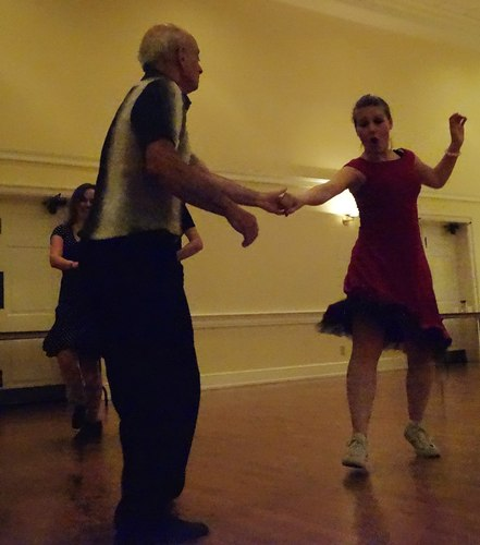 Philadelphia Swing Dance Society party - the dancers at the party were a pleasure to watch and an honor to dance with - this was true of both beginners and advanced dancers