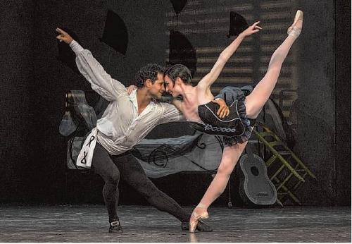 Ballet San Jose Artistic Director José Manuel Carreño takes the stage in Roland Petit's 1949 retelling of 'Carmen' as Don José, with Alexsandra Meijer in the title role.