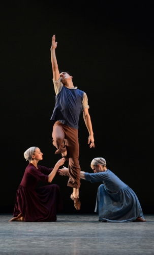 IU Ballet Theater in Antony Tudor's 'Dark Elegies'.
