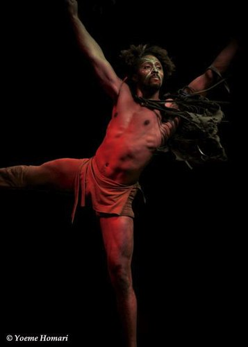 Trey Pickett in 'Bird and freedom seeds' from Dancing Earth's ORIGIN-ATION: ROOTS AND SEEDS