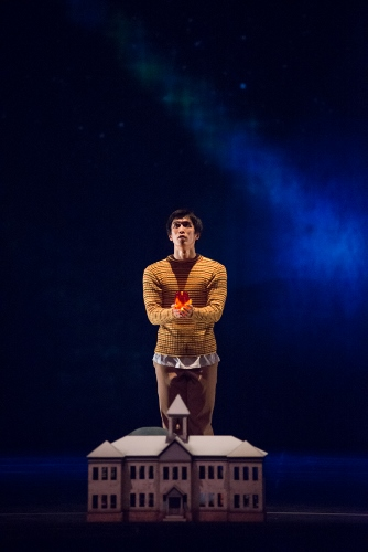 Royal Winnipeg Ballet dancer Yosuke Mino in 'Going Home Star - Truth and Reconciliation'.