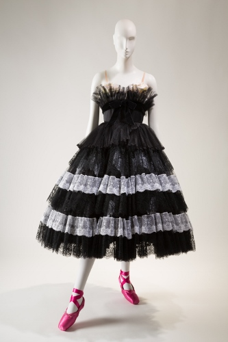 Valentino, woman's costume for Bal de Couture, Fall 2012, lent by New York City Ballet. Photograph © The Museum at FIT.