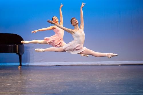 'Rondo' choreography by Jerome Robbins.