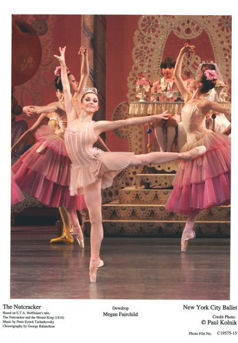 Megan Fairchild as Dewdrop and The Flowers in NYCB's 'George Balanchine's The Nutcracker(TM)'