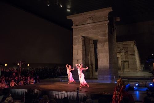 Nrityagram at The Temple of Dendur in The Sackler Wing at The Metropolitan Museum of Art.