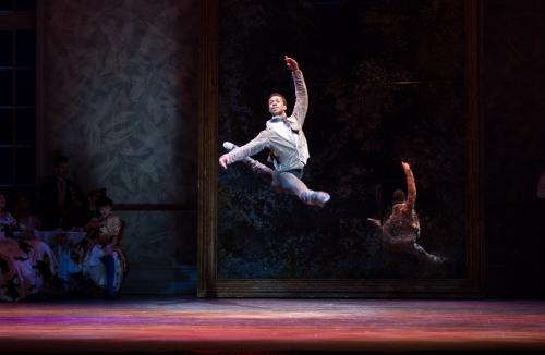 Principal Dancer Jermel Johnson in Christopher Wheeldon's 'Swan Lake.'