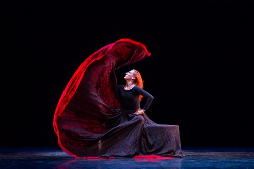 Blakeley White-McGuire in Martha Graham's 'Chronicle'