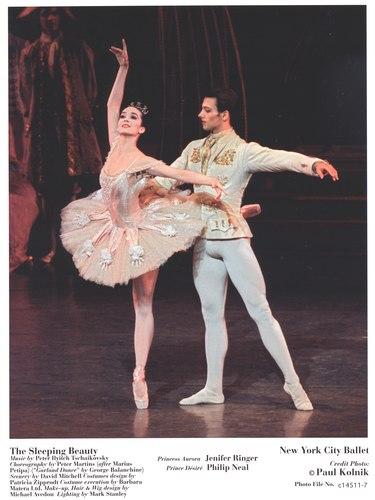 Jenifer Ringer and Philip Neal in New York City Ballet's The Sleeping Beauty