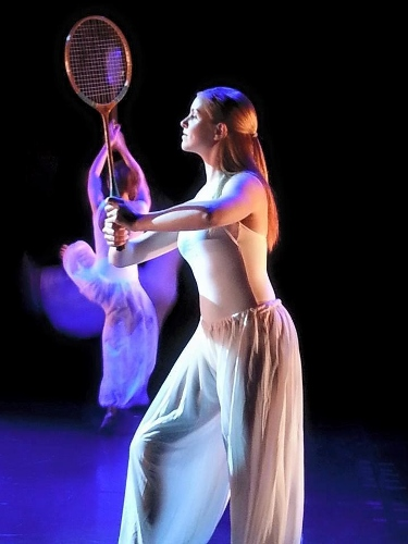 Lennon Hobson in Louise Reichlin's 'The Tennis Dances.'