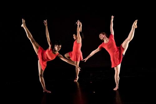 Victory Dance Project's Jessica Israel, Maggie Segale and Raquel Cohen.