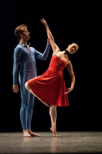 IU Ballet Theater's Matthew Rusk and Natalie Nguyen.