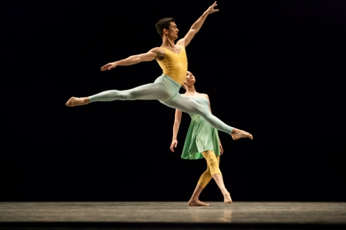 IU Ballet Theater's Andy Copeland and Cara Hansvick.
