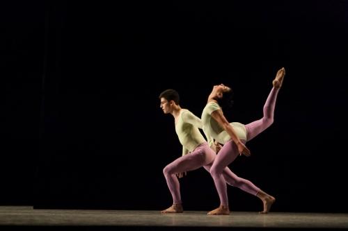 IU Ballet Theater's Aaron Anker and Rachel Duvall.