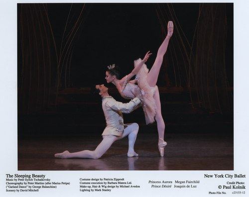 Megan Fairchild and Joaquin De Luz in NYCB's The Sleeping Beauty