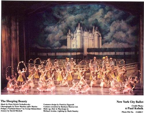 New York City Ballet's The Sleeping Beauty<br> The Garland Dance