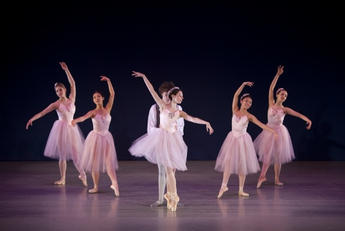 George Balanchine's Valse-Fantaisie - Grace Phelps, Luther DeMyer and cast.